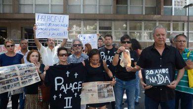 Vítimas do Palace II protestam 20 anos após desabamento 390x220 - Vítimas do Palace II protestam 20 anos após desabamento
