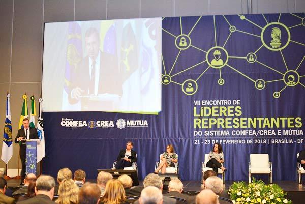 Revista News VII-Encontro-de-Líderes-Representantes Sistema Confea/Crea e Mútua reúne 800 participantes em Encontro de Líderes