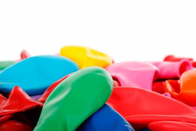 balões - Alergia ao látex: sintomas e tratamento