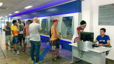bancos 390x220 - Bancos reabrem ao meio-dia; contas que venceram no carnaval podem ser pagas hoje