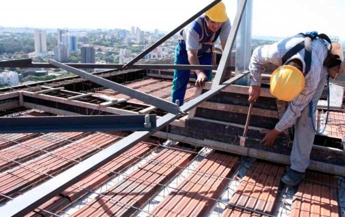 constru - Ociosidade da indústria da construção atinge menor nível desde 2015