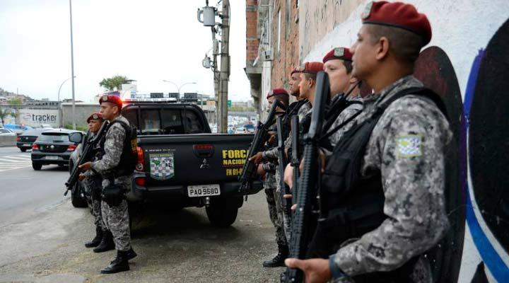 forca nacional2 wide - Ministro da Justiça diz que o governo tem o compromisso com os estados de atuar na Segurança