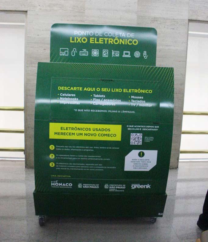 lixo sp - Mônaco patrocina primeira rede de coleta de lixo eletrônico em São Paulo