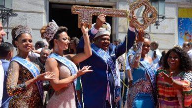 momo rio 390x220 - Rei Momo abre carnaval do Rio em cerimônia no Palácio da Cidade