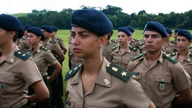 mulheres exercito 390x220 - Sexo feminino na Academia Militar das Agulhas Negras
