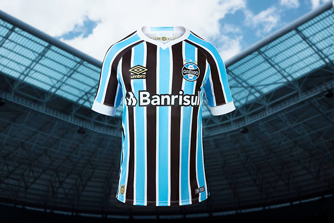 novo uniforme grêmio - Grêmio e Umbro apresentam novo uniforme