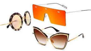 oculos sol 1 390x220 - Armações de óculos de sol que se destacam nas prateleiras de luxo