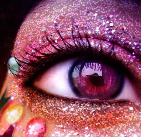 olhos carnaval - Cuidado com os olhos no Carnaval