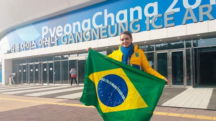 patinação artística de PYEONGCHANG 2018 - Isadora Williams fica em 24º lugar na patinação artística de PYEONGCHANG 2018