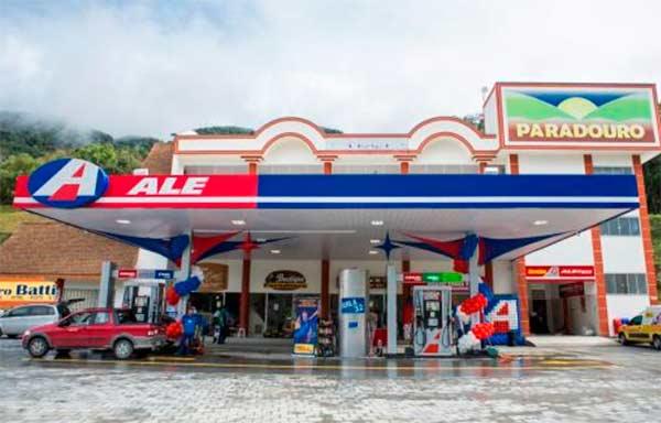 posto tonia - Posto de combustíveis Toniá (SC) é o melhor da rede ALE no país