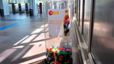 Photo of Duas toneladas de tampinhas são coletadas nas estações da Trensurb