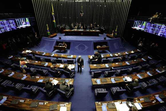 senado - Senado aprova competência da Justiça Eleitoral para julgar conflitos partidários