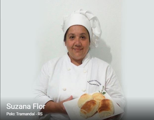 suzana - Merendeira gaúcha representa RS no reality de gastronomia Mão na Massa