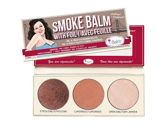theBalm - Tons quentes na nova paleta Smokebalm da theBalm