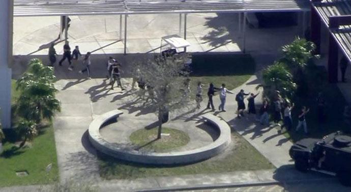tiroteio florida - Tiroteio na Flórida já deixou pelo menos sete mortos