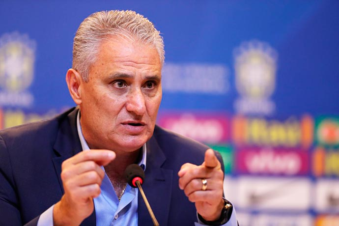 tite - CBF adia convocação da seleção para amistosos contra Rússia e Alemanha