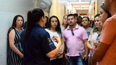Photo of Hospital Municipal organiza primeira visita do ano na maternidade