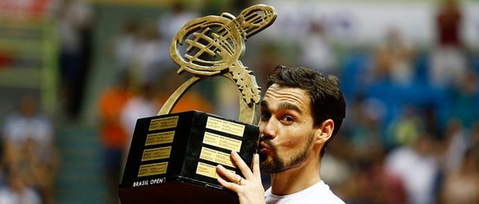 Brasil Open - Fognini é primeiro campeão italiano do Brasil Open