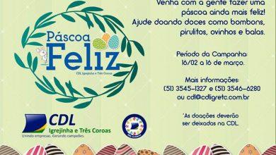 Photo of CDL de Igrejinha e Três Coroas promove campanha Páscoa Feliz