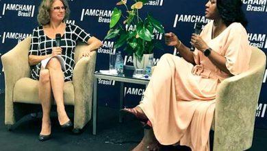 CEO da AMCHAM e RACHEL MAIA 1 390x220 - Na Amcham, Rachel Maia anuncia saída da presidência da PANDORA