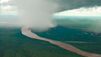 Chuvarada 1 390x220 - Rios Voadores e Floresta Amazônica influenciam nas chuvas de boa parte do território nacional