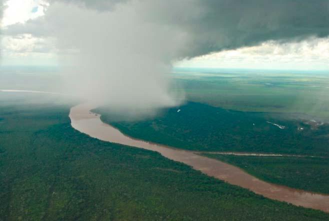 Chuvarada 1 - Rios Voadores e Floresta Amazônica influenciam nas chuvas de boa parte do território nacional