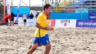 Copa América de Beach Soccer 390x220 - Brasil segue invicto na Copa América de Beach Soccer