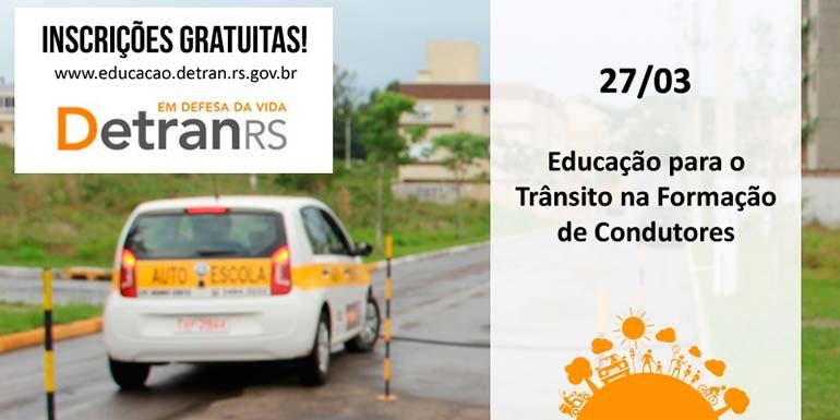 DetranRS oferece curso para instrutores de centros que formam condutores - DetranRS oferece curso para instrutores de centros que formam condutores