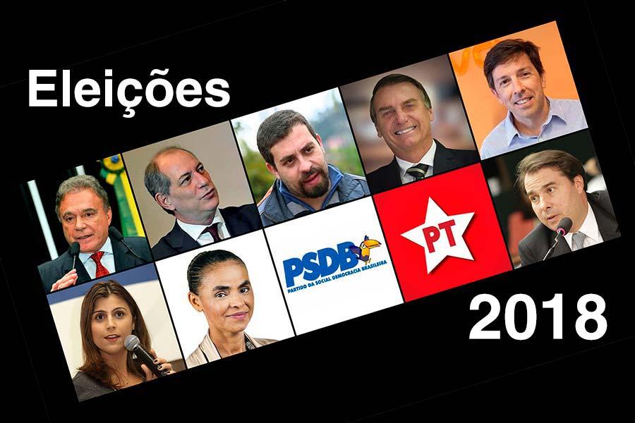 Eleições 2018 Pré candidato à presidência 2 - Cinco partidos já definiram pré-candidatos à presidência da República