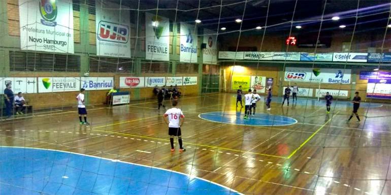Futsal torneio em Novo Hamburgo - Novo Hamburgo: 2ª rodada do Torneio de Futsal ocorre nesta quinta-feira