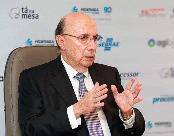 HENRIQUE MEIRELLES 51 1 - Na Federasul, Meirelles disse que ainda decidirá sobre saída do Ministério da Fazenda