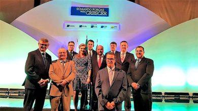 Photo of Posse dos novos dirigentes da CNDL, SPC Brasil e Federações