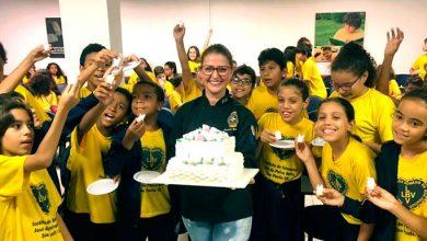LBV2 390x220 - Chef promoveu uma aula para mais de 70 crianças na sede da LBV