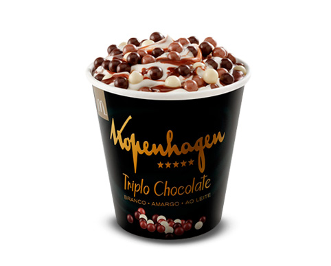 McFlurry Triplo Chocolate Kopenhagen - Novo sabor do McFlurry