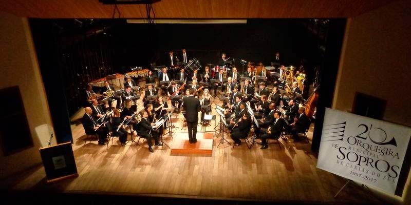 Orquestra Municipal de Sopros de Caxias do Sul - Orquestra Municipal de Sopros abre inscrições para série Concertos Didáticos em Caxias