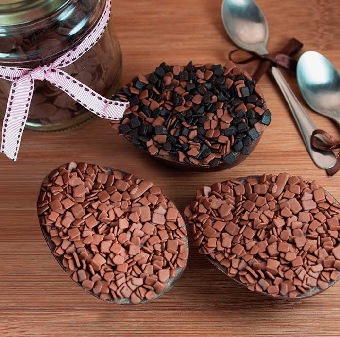 Ovo de colher sabor Cappuccino - Receitas de Páscoa com os chocolates Genuine