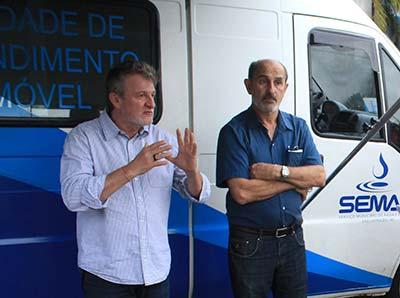 SEMAE 1  - Unidade de Atendimento Móvel chega à Santa Marta