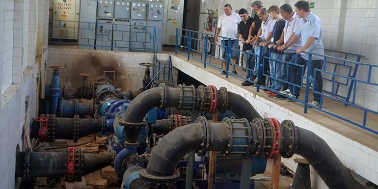 Semae Ampliação - Semae amplia bombeamento de água e busca eficiência em seus processos