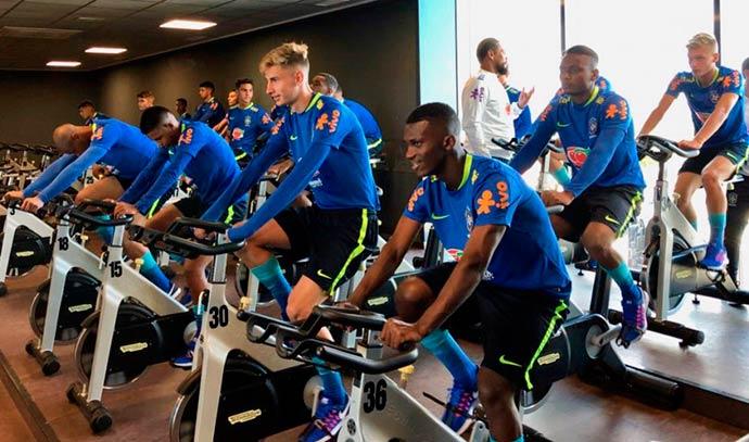 Sub 17 inicia preparação para amistosos na Espanha - Seleção Brasileira Sub-17 inicia preparação para amistosos na Espanha