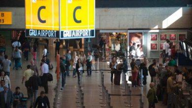 aeroporto guarulhos 390x220 - Aeroporto de Guarulhos cancela voos para a Argentina