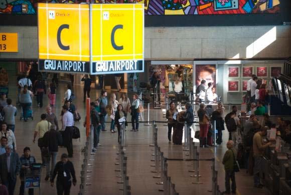 aeroporto guarulhos - Aeroporto de Guarulhos cancela voos para a Argentina