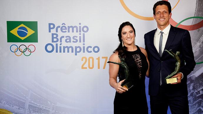 atletas - Mayra Aguiar e Marcelo Melo são os Melhores Atletas do Ano de 2017 do Brasil