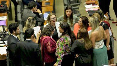 bancada feminina 390x220 - Apenas dois partidos políticos têm maioria feminina no Brasil
