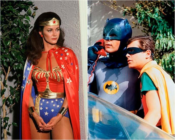 bat marav - Séries clássicas do Batman e Mulher-Maravilha acabam de ser lançadas