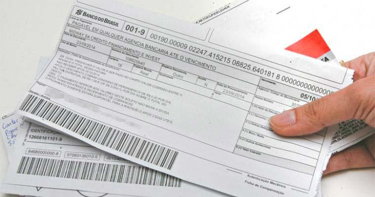 boletos bancários - Boletos vencidos acima de R$ 800 começam a ser aceitos em qualquer banco