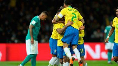 brasil alemanha 390x220 - Brasil vence Alemanha em amistoso no Estádio Olímpico de Berlim