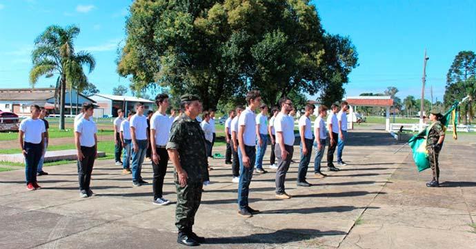 cerca de 900 mil jovens ja realizaram o alistamento militar - Cerca de 900 mil jovens já realizaram o alistamento militar