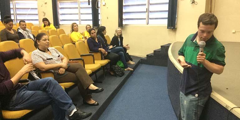 conscientização sobre Síndrome de Down - Prefeitura de SL promove conscientização sobre Síndrome de Down