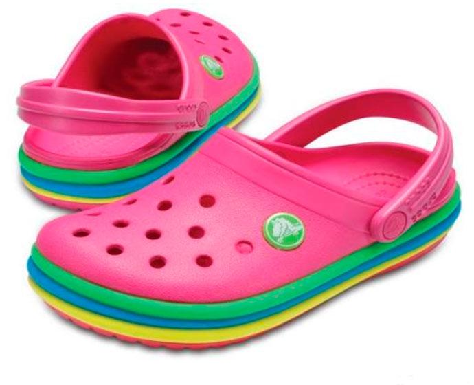 croc - Crocs apresenta o clog Rainbow