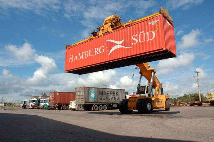 exportação - RS: exportações da indústria aumentam 12,5%